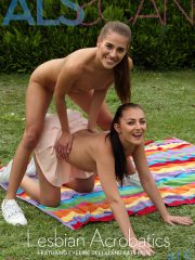 Eveline Dellai, Katy Rose: Lesbian Acrobatics by Als Photographer