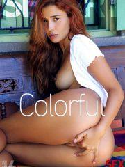 Agatha Vega: Colorful by Vicente Silva
